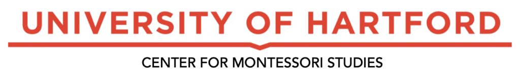 University of Hartford, Center for Montessori Studies Logo